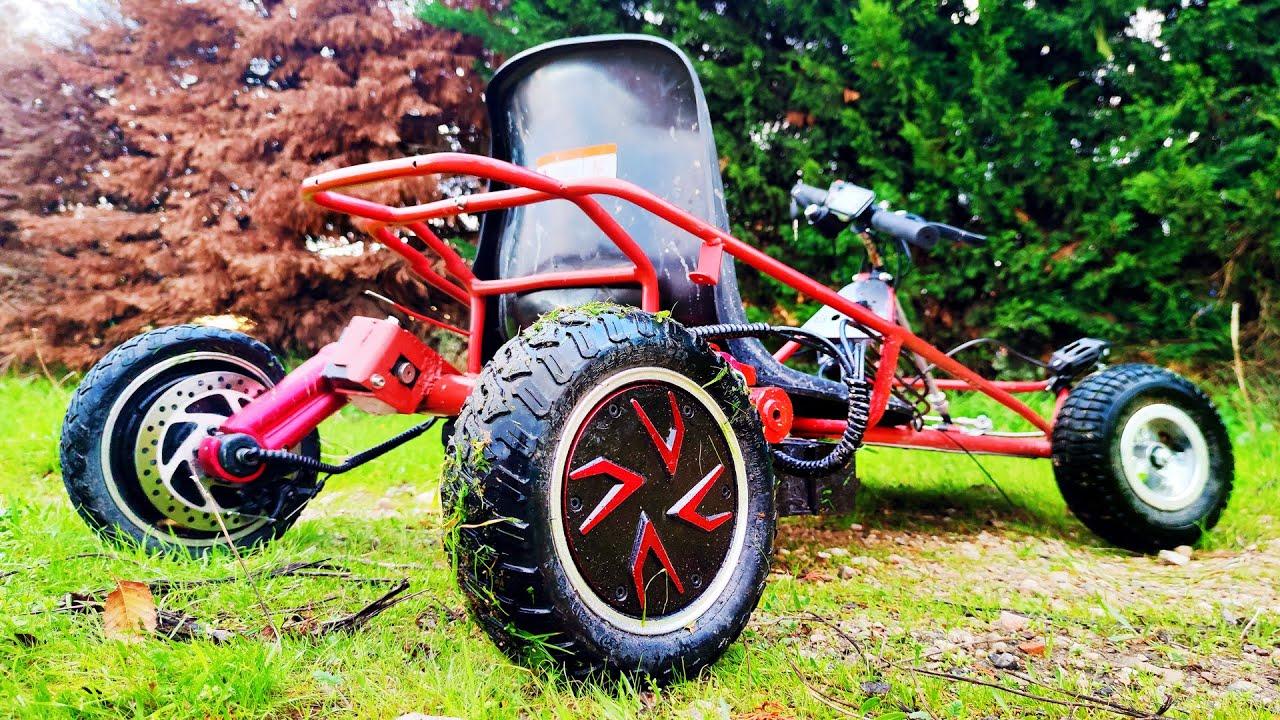 Kart Electrico Casero con Piezas de Patinetes ! (+60kmh) Mi Primer