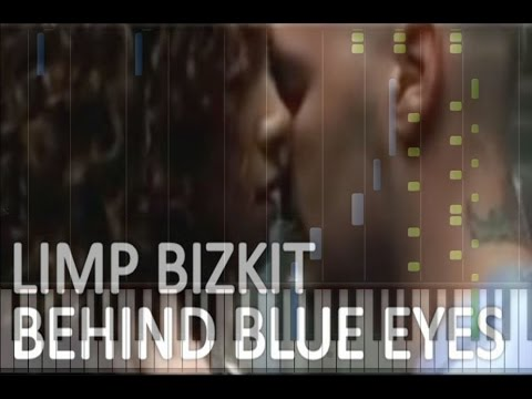 Limp Bizkit - Behind Blue Eyes Piano Cover [Synthesia Piano Tutorial]