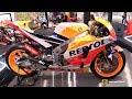 2018 Honda RCV213 Moto GP 93 Marc Marquez Racing Bike - Walkaround - Debut at 2018 EICMA Milan