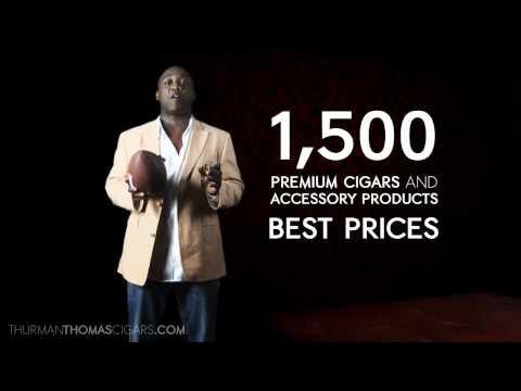 Thurman Thomas Sports and Cigars