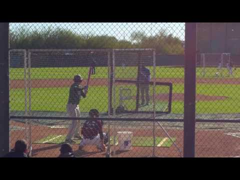 Perfect Game 2016 uncommitted west showcase AZ camelback ranch  12/3 Angel Ruiz Jr