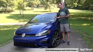 Review: 2018 Volkswagen Golf R - Apr Stage 1