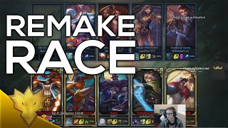 Bjergsen & Meteos - Race against remake - Dynamic Queue Funny Moments