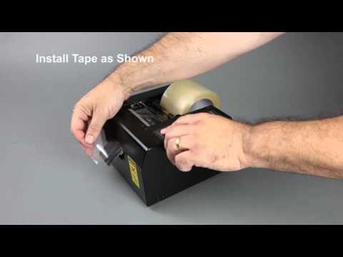 Tach-It #6175 Semi-Automatic Definite Length Tape Dispenser