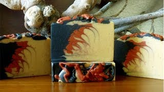 Making Dragons Blood Soap
