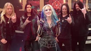 Arch enemy live in italy 2018!