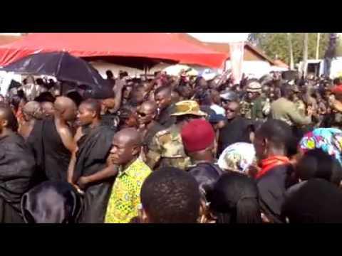Mahama Hooted At Asantehemaa Funeral