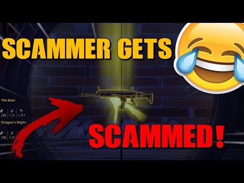 Fortnite Kid tries to scam me! *MUST WATCH* - Save The World