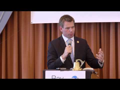 DMC 2013: US Congressman Eric Swalwell