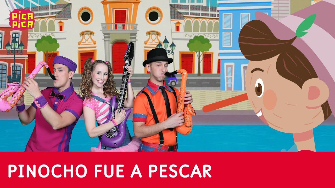 Pica-Pica - Pinocho fue a pescar con Pica-Pica