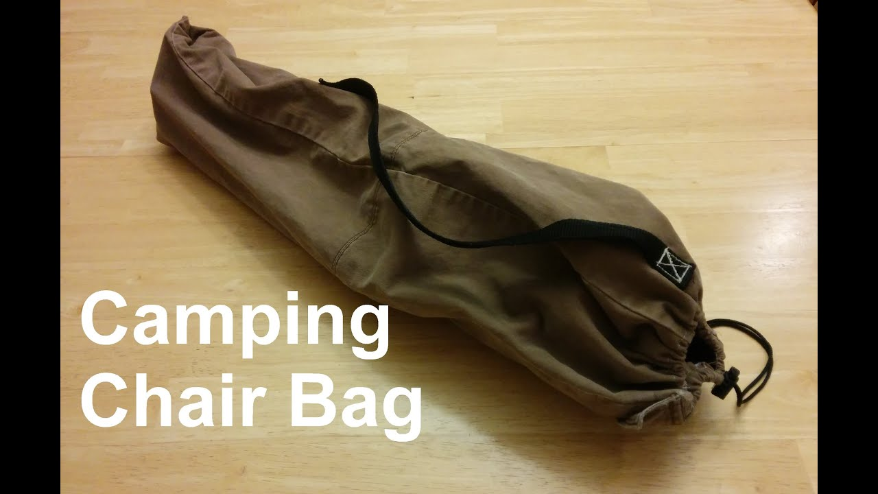 Camping Chair Bag  From A Pant Leg  YouTube