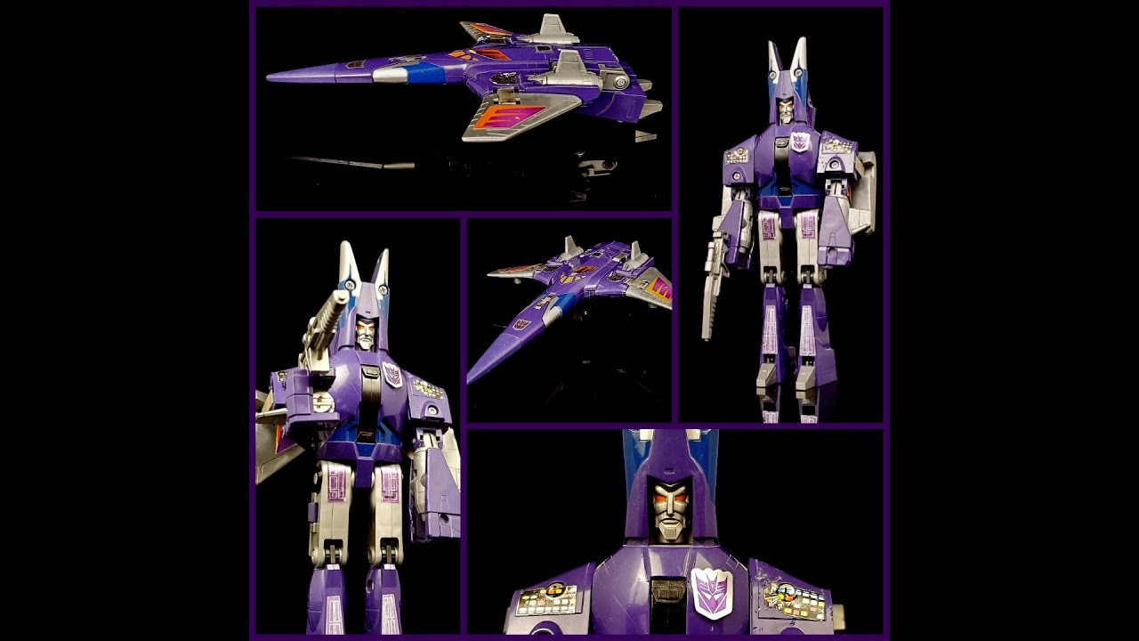 Throwback Thrusday! G1 Cyclonus Review By Deluxe Baldwin