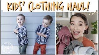 KIDS' BACK TO SCHOOL CLOTHING HAUL+ Try On!   Natalie Bennett