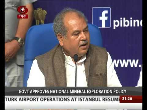 Cabinet Nod To National Mineral Exploration Policy