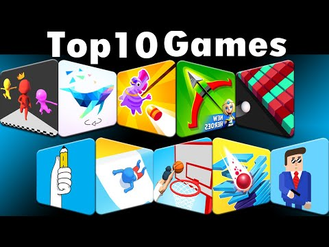 Top 10 Hot Mobile Casual Game [ First Half Of 2019 ]