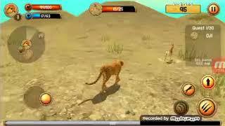 الجزء الأول من لعبة الفهد الصياد