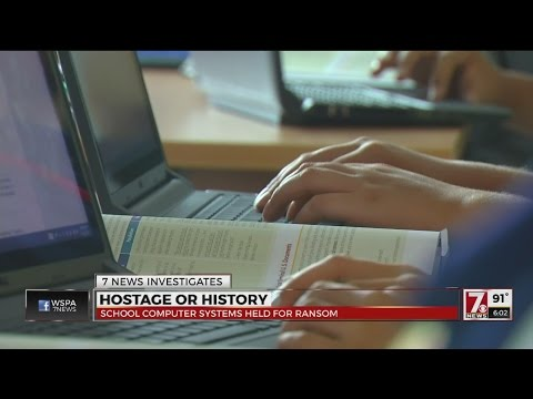Hackers holding school computers hostage