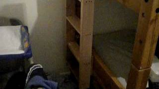 Homemade Bunk Bed Ladder