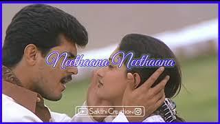 💞Neethana Neethana💞 || Unnai Thedi Movie || Whatsapp Status Song || Sakthi Creation