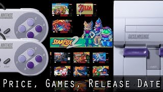 Super Nintendo Classic Detailed - Longer Cords, Star-Fox 2, and Supply Issues!