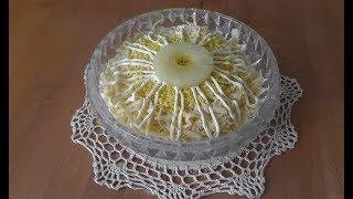 видео Салат нежность рецепт классический рецепт с грибами