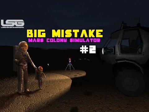 Mars Colony Simulator Removing The Helmet Big Mistake