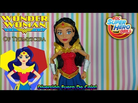 DC Super Hero Girls Muñeca Wonder Woman De Themyscira🌟⭐
