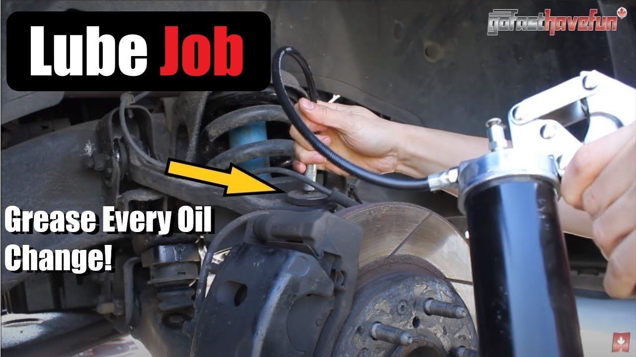How to do a Chassis Lube (Ball Joints, Tie Rods Ends, and more!) |  AnthonyJ350