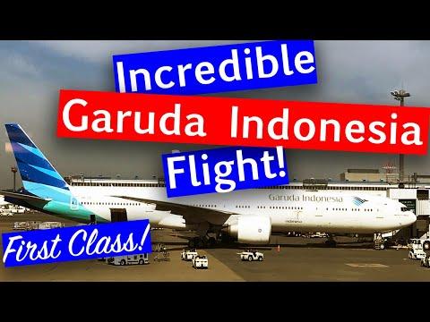 FIRST CLASS to BALI with Garuda Indonesia
