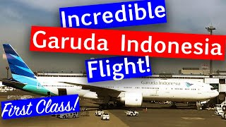 FIRST CLASS to BALI with Garuda Indonesia