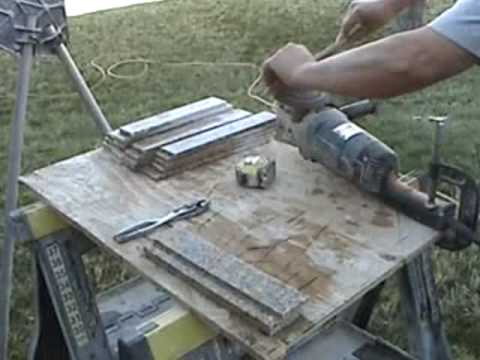 DIY Granite Tile Countertops   YouTube