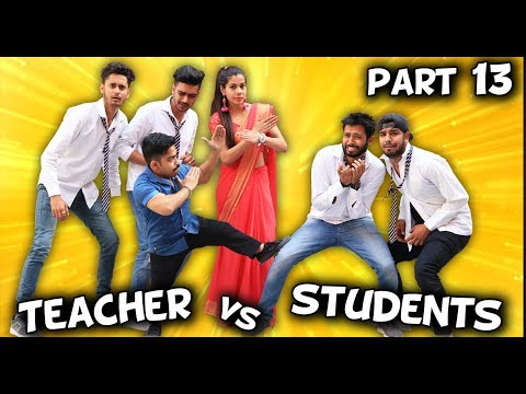 TEACHER VS STUDENTS PART 13 | BakLol Video |