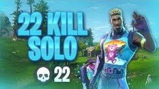 INSANE 22 Kills Solo Gameplay | Fortnite Battle Royale (Xbox) - Tendai