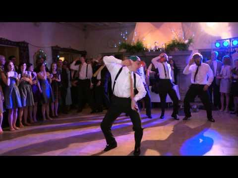 ריקוד ג`סטין ביבר בחתונה