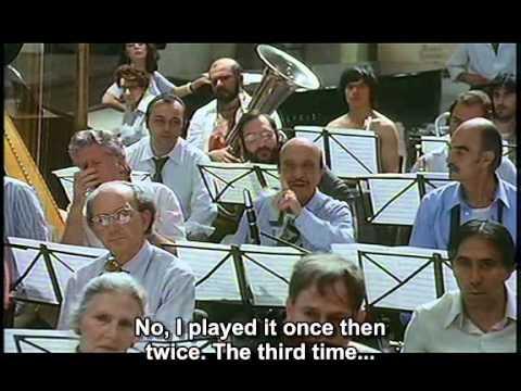 Federico Fellini - Prova d'orchestra (part. eng sub)