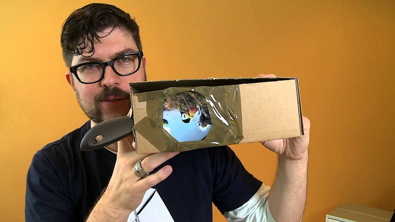 Srf Digital Wir Basteln Einen Smartphone Projektor Youtube