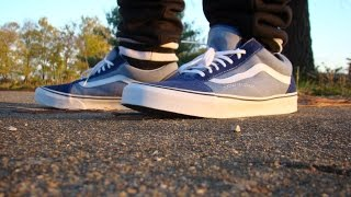 Vans Old Skool Suede and Chambray
