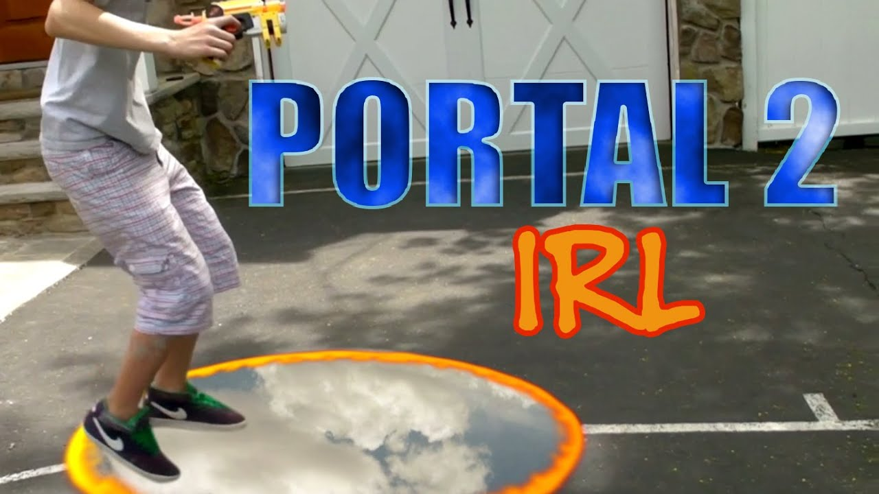Portal 2 Gun In Real Life