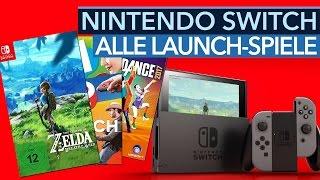 Nintendo Switch: Alle Launch-Spiele - Diese Spiele gibt