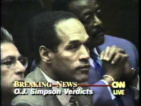 OJ Simpson Verdict - FULL CNN - YouTube