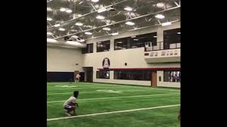 Kyler Murray working out with Antonio Brown