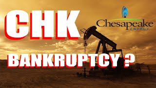 Chk Stock Bankruptcy Coming: Will Robinhood Traders Buy Up Chesapeake Energy Stock?