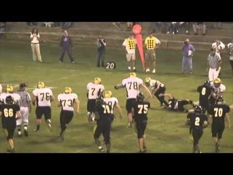 Colin Kanehl Football Highlights 2009 Sophomore Dresden High School