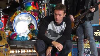 Coldplay @ The Today Show FANCAM 03142016