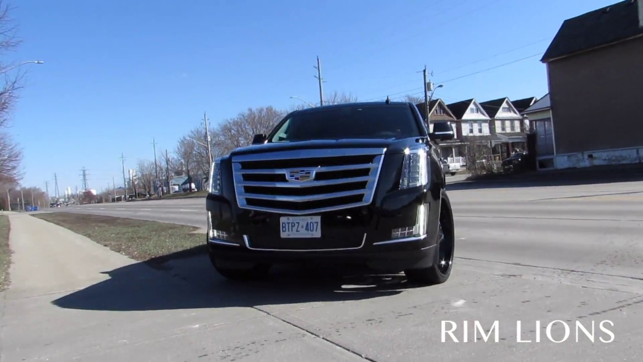 2018 CADILLAC ESCALADE WITH 30 INCH RIMS (WORLDS FIRST ...