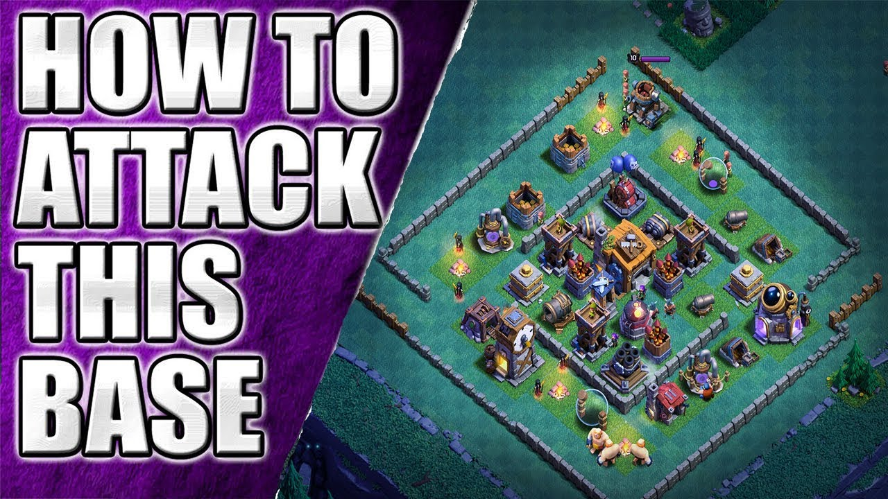 Builder Hall 7 Attack Strategy On Top Base Youtube