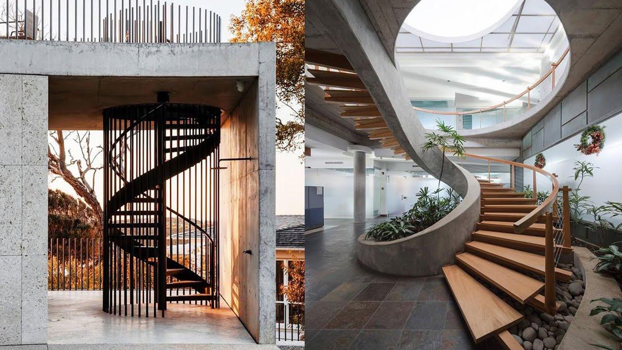 Interior Design Idea - Spiral Stairs