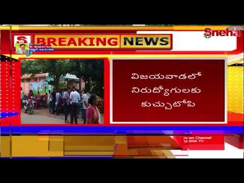 Madwic Software Solutions cheating Unemployed Youth | Vijayawada | Sneha TV Telugu