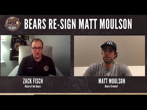 Virtual Chats: Matt Moulson Re-signs with Bears