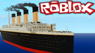SINKING OF THE TITANIC [ROBLOX]